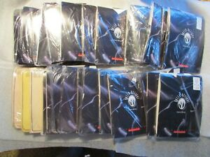 Lot 29 Sheer Delights Pantyhose Plus size  Colors Wear Silk Sensations vintage