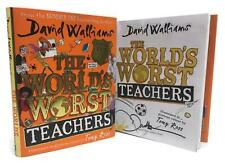 Signed Book - The World's Worst Teachers by David Walliams First Edition 1st P