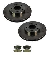 1989-1999 Maxima Front Left and Right Disc Brake Rotors & Ceramic Brake Pads