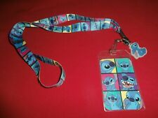 Official Disney STITCH Lanyard/Badge ID Holder/Keychain NEW (Free Shipping)