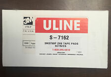 """3M 3750P Tape Pads - 2 x 6""""  - Uline S-7162  - 1000 Sheets  Free Shipping!"""