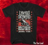 New Lynyrd Skynyrd Swamp Rock Mens Vintage T-Shirt