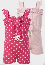 Girls' Spotted 100% Cotton Jumpsuits & Playsuits (2-16 Years)