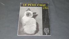 LIVRE D'ENFANT PHOTOS DE ERGY LANDAU : LE PETIT CHAT 1957