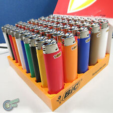 50 Bic Child Guard Cigarette Tobacco Lighter Maxi Big