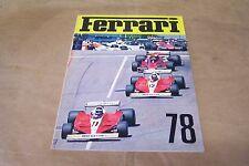 ANNUARIO FERRARI 1978 - perfetto, raro - cm 20,5 x 28, pag 60 -