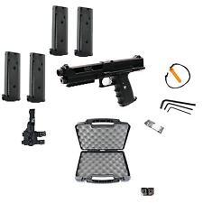 Tippmann TiPX Deluxe Paintball Pistol Kit Gun TPX 4 Clips Hard Case Holster NEW