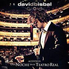 Una Noche En El Teatro Real [1/31] * by David Bisbal (CD, Jan-2012, Universal Mu