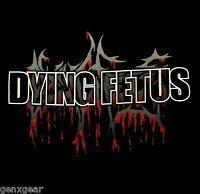 DYING FETUS cd cvr BLOODY LOGO Official SHIRT MED new
