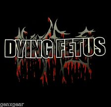DYING FETUS cd cvr BLOODY LOGO Official SHIRT XXL 2X new