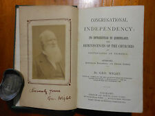 WIGHT, Geo. Congregational Independency: Its introduction to Queensland. [1887].