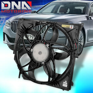 FOR 2004-2010 BMW X3 3.0 FACTORY STYLE REPLACEMENT RADIATOR COOLING FAN ASSEMBLY