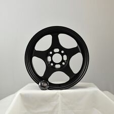 4 ROTA WHEEL SLIPSTREAM 16X7  4x100 40 67.1  FBLK CIVIC INTEGRA MIATA