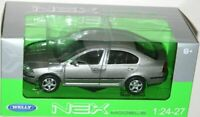 Skoda Octavia, Grey Classic Metal Model Car, Motormax 1/24