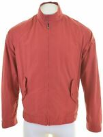 NORTH SAILS Mens Harrington Jacket Size 40 Large Red Cotton  KX06