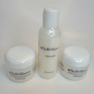 NuBrilliance 3-Piece Skin Care Treatment System - New Expired
