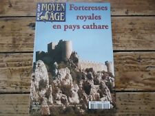 REVUE MOYEN AGE HS N° 15 FORTERESSES ROYALES EN PAYS CATHARE CARCASSONNE