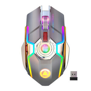 USB Computer Mouse Wired, Light Up Mouse for Laptop with RGB Breathing Light 3