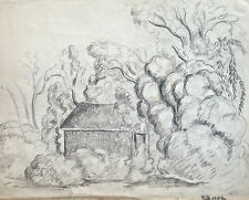 Dorothy Eaton Drawing (I) House in Landscape