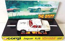 Corgi Juniors 32 THE SAINT Jaguar XJ-S Diecast Model TV Car & Custom Display [a]
