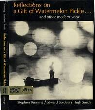 REFLECTIONS ON A GIFT WATERMAN PICKLE DONALD HALL AS.B. GUTHRIE LANGSTON HUGHES