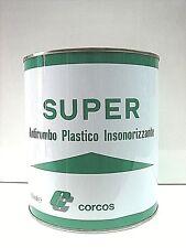 SUPER ANTIROMBO CORCOS NERO BITUMINOSO INSONORIZZANTE ANTIVIBRANTE ML.2500