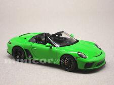 PORSCHE 911 SPEEDSTER 2019 VERTE, voiture miniature 1/43e SPARK S7633