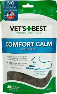 Vet's Best Comfort Calm Soft Chews 1ea/4.2 oz, 30 ct    Free Shipping