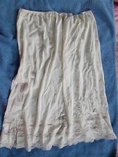 Vintage Movie Star Half Slip size XXLarge Ivory
