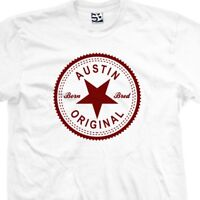 ca63d4d8e524 Austin Original Inverse T-Shirt - Born and Bred in Made Tee All Sizes &