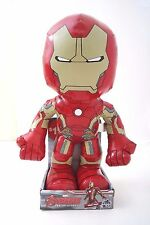 "Rare Marvel Avengers Assemble Age Of Ultron 15"" Iron Man Soft Toy Ages 3+ NWT"
