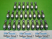 25 x size 4oz(112gms) bulk australian made bank/reef snapper fishing sinkers