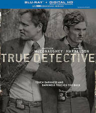 True Detective: The Complete First Season (Blu-ray Disc, 2014, 3-Disc Set,...
