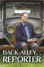 New, Back Alley Reporter, Mike McCardell, Book