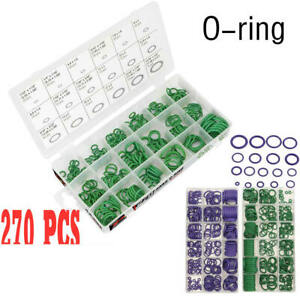 Portable 270pcs/box Rubber O-Ring Washer Seals Gasket Assortment Set 18  yioo