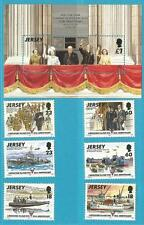 Großb.-Jersey aus 1995 ** postfrisch Block 8 MiNr.701 + MiNr.695-700