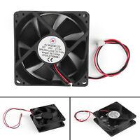 1x DC Brushless Ventilateur de Refroidissement 24V 8025s 80x80x25mm 0.15A 2 Pin