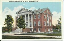 Gettysburg College YMCA Building Pennsylvania Blocher 1915 Postcard