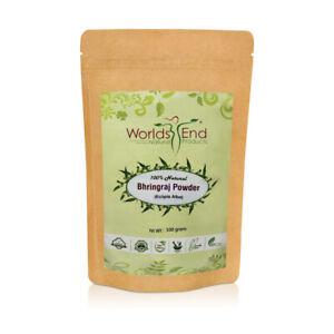 Natural Pure Bhringraj Powder for Hair Growth, Eclipta Alba 100g