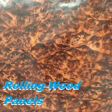 """19X79"""" DAMAGED Wood LAYERS Water Transfer Printing Film,Hydrographic US"""