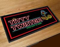 Bar runner The Titty Twister Horror Vampire Bar Movie Memorabilia pubs clubs
