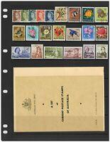 Australia 1968 Collector's Set In Folder 22 Stamps Incl. Navigators CTO 16-12