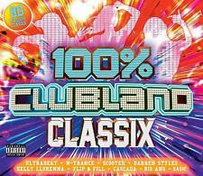 100% Clubland Classix - New 4CD Classics Set Album