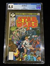 MARVEL STAR WARS #2, 8/77, CGC 8.5 WHITE PAGES, REPRINT  6016