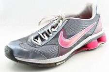 Nike Shox  Running Shoes Silver Synthetic Women8Medium (B, M)