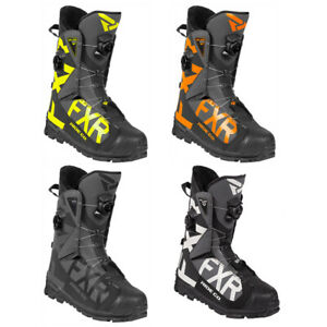 FXR Helium Pro BOA Boot Fixed Fur Liner Durable Snowmobile Heavy-Duty Traction