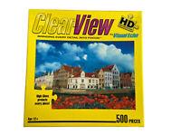 "Hobbico ""Brugge, Belgium"" ClearView HD Jigsaw Puzzle 500 Pcs 19"" x 13"" 2008"