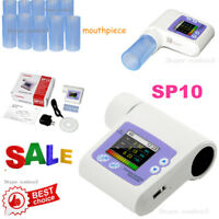 SP10 Digital Spirometer Lung Breathing CONTEC Diagnostic Spirometry Volumetric