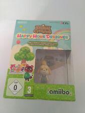 Animal Crossing Happy Home Designer con amiibo Canela Nintendo 3ds
