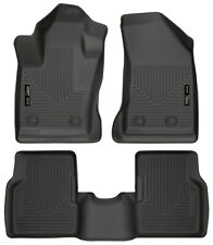 Husky WeatherBeater for 2018-2019 Jeep Compass Front / Rear Floor Liner 95681